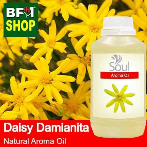 Natural Aroma Oil (AO) - Daisy Damianita ( Chrysactinia Mexicana ) Aroma Oil  - 500ml