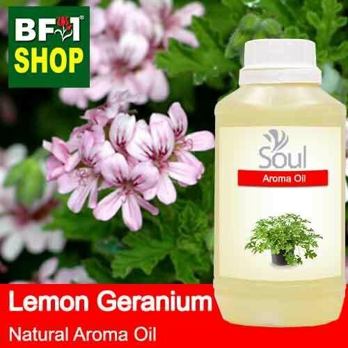 Natural Aroma Oil (AO) - Geranium - Lemon Geranium Aroma Oil  - 500ml