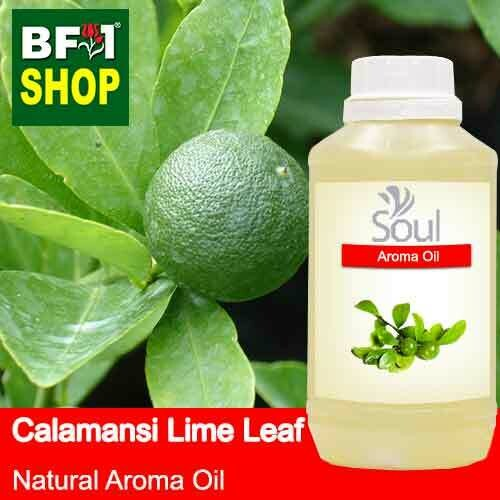 Natural Aroma Oil (AO) - Lime - Calamansi Lime Leaf Aroma Oil  - 500ml
