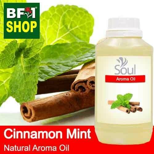 Natural Aroma Oil (AO) - Mint - Cinnamon Mint Aroma Oil  - 500ml