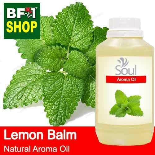 Natural Aroma Oil (AO) - Mint - Lemon Balm ( Melissa Officinalis ) Aroma Oil  - 500ml
