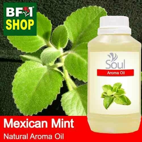 Natural Aroma Oil (AO) - Mint - Mexican Mint ( Plectranthus socotranum ) Aroma Oil  - 500ml