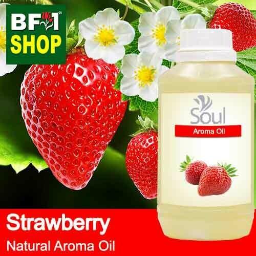 Natural Aroma Oil (AO) - Strawberry Aroma Oil  - 500ml