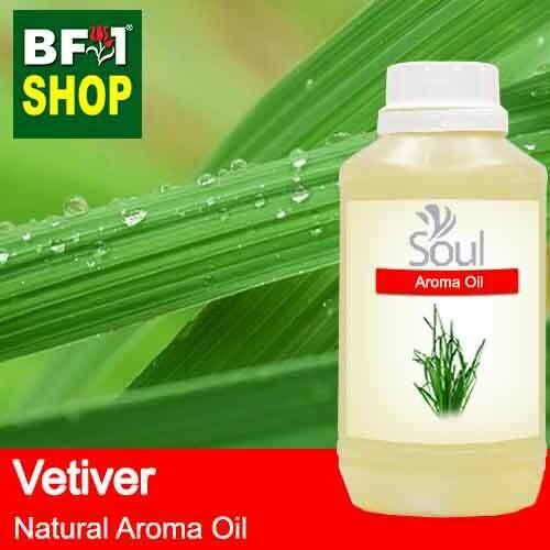 Natural Aroma Oil (AO) - Vetiver Aroma Oil  - 500ml