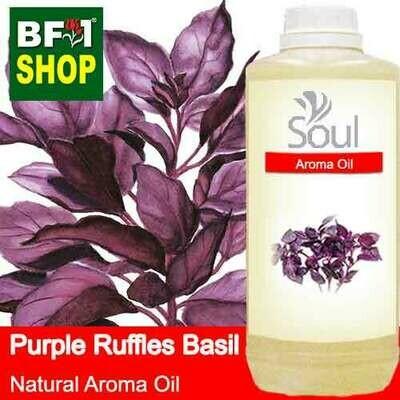 Natural Aroma Oil (AO) - Basil - Purple Ruffles Basil Aroma Oil