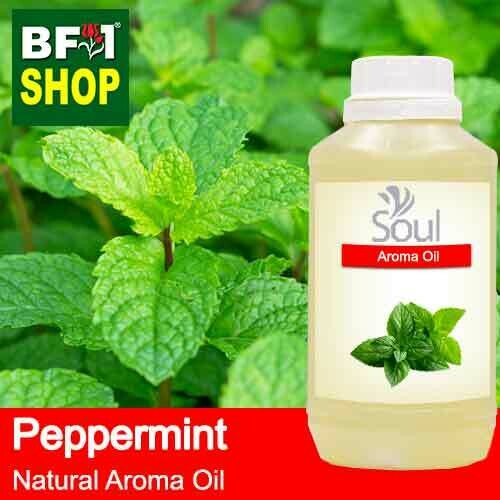 Natural Aroma Oil (AO) - Mint - Peppermint ( Mentha Piperita ) Aroma Oil  - 500ml