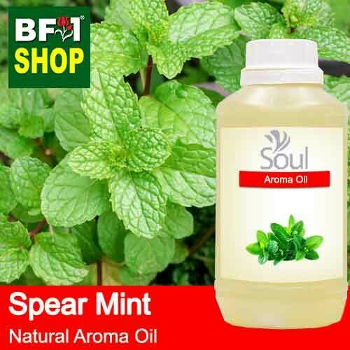 Natural Aroma Oil (AO) - Mint - Spear Mint Aroma Oil  - 500ml