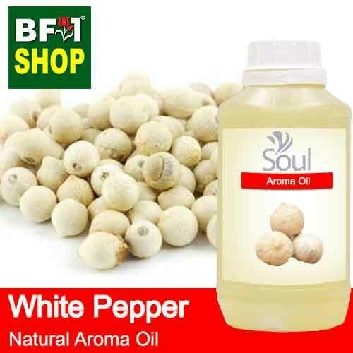 Natural Aroma Oil (AO) - Pepper - White Pepper Aroma Oil  - 500ml