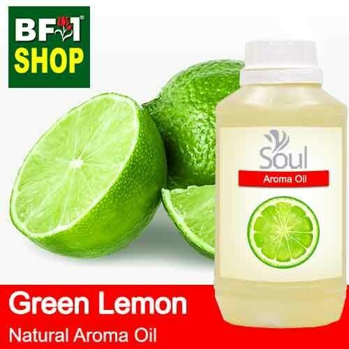 Natural Aroma Oil (AO) - Lemon - Green Lemon Aroma Oil  - 500ml
