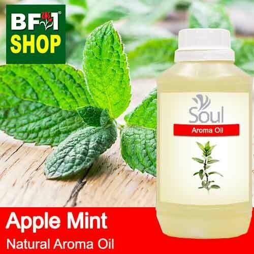 Natural Aroma Oil (AO) - Mint - Apple Mint ( Mentha Suaveolens ) Aroma Oil  - 500ml