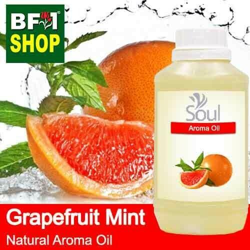 Natural Aroma Oil (AO) - Mint - Grapefruit Mint ( Mentha Piperita ) Aroma Oil  - 500ml