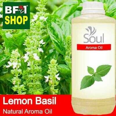 Natural Aroma Oil (AO) - Basil - Lemon Basil ( Citriodorum Basil ) Aroma Oil  - 1L