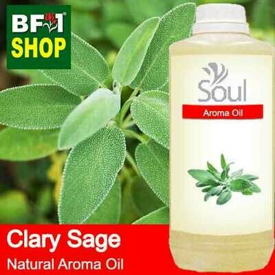 Natural Aroma Oil (AO) - Clary Sage Aroma Oil  - 1L