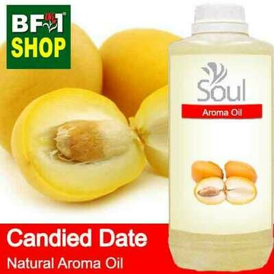 Natural Aroma Oil (AO) - Date - Candied Date Aroma Oil  - 1L