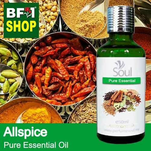 Pure Essential Oil (EO) - Allspice Essential Oil - 50ml
