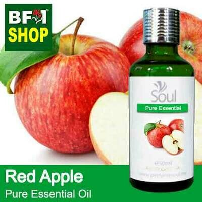 Pure Essential Oil (EO) - Apple - Red Apple Essential Oil - 50ml