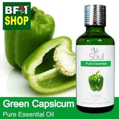 Pure Essential Oil (EO) - Capsicum Green Essential Oil - 50ml