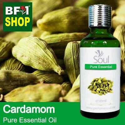 Pure Essential Oil (EO) - Cardamom Essential Oil - 50ml