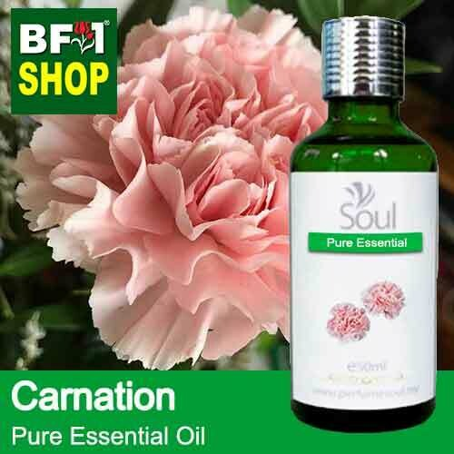 Pure Essential Oil (EO) - Carnation Flower Essential Oil - 50ml