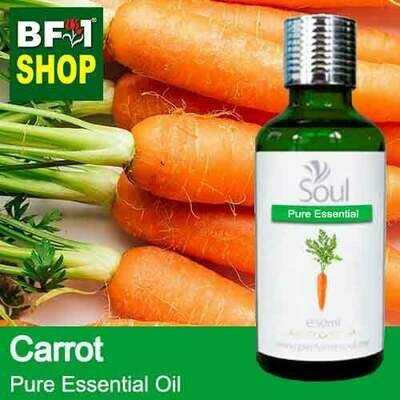 Pure Essential Oil (EO) - Carrot Essential Oil - 50ml