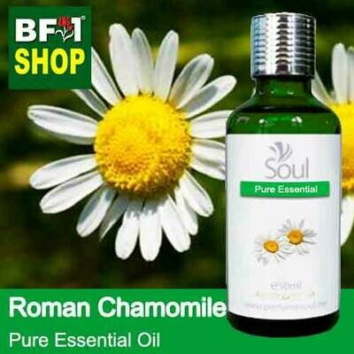 Pure Essential Oil (EO) - Chamomile - Roman Chamomile Essential Oil - 50ml