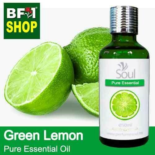 Pure Essential Oil (EO) - Lemon - Green Lemon Essential Oil - 50ml