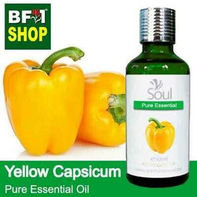 Pure Essential Oil (EO) - Capsicum Yellow Essential Oil - 50ml