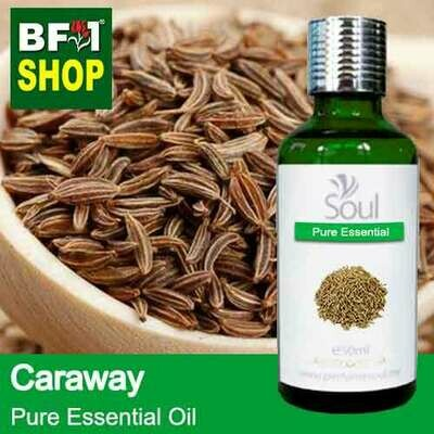 Pure Essential Oil (EO) - Caraway Essential Oil - 50ml