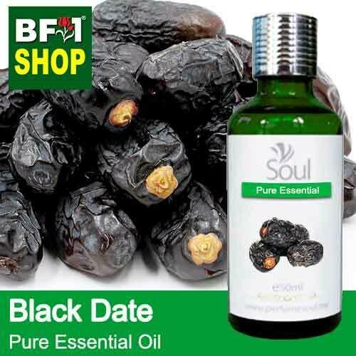 Pure Essential Oil (EO) - Date - Black Date Essential Oil - 50ml