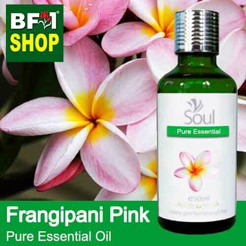 Pure Essential Oil (EO) - Frangipani Pink Essential Oil - 50ml