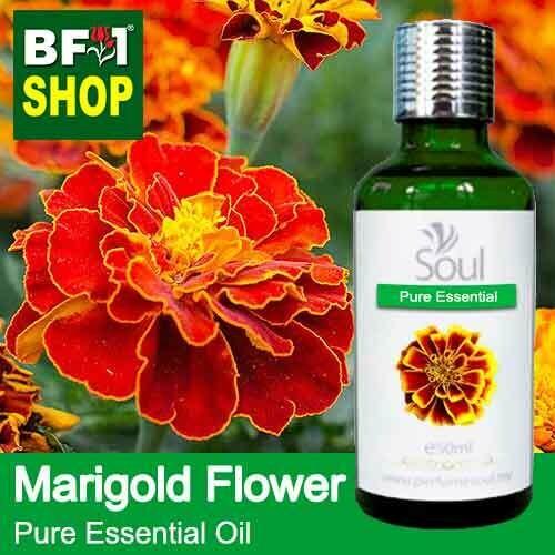 Pure Essential Oil (EO) - Marigold Flower Essential Oil - 50ml