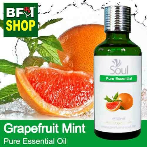 Pure Essential Oil (EO) - Mint - Grapefruit Mint ( Mentha Piperita ) Essential Oil - 50ml