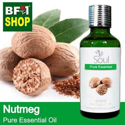 Pure Essential Oil (EO) - Nutmeg Essential Oil - 50ml