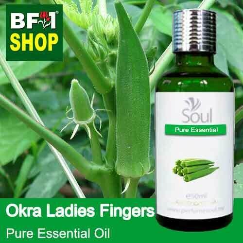 Pure Essential Oil (EO) - Okra (Ladies Fingers) Essential Oil - 50ml