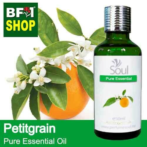 Pure Essential Oil (EO) - Petitgrain Essential Oil - 50ml