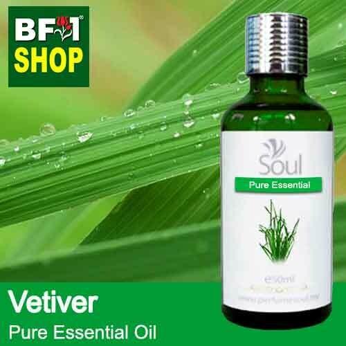 Pure Essential Oil (EO) - Vetiver Essential Oil - 50ml
