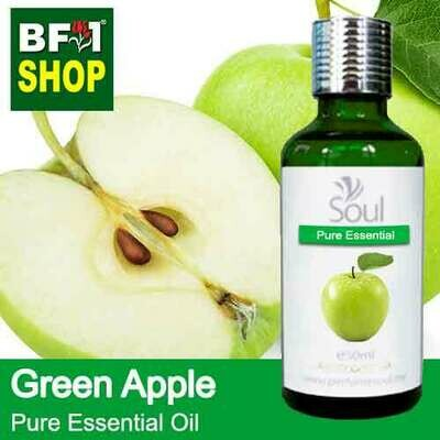 Pure Essential Oil (EO) - Apple - Green Apple Essential Oil - 50ml