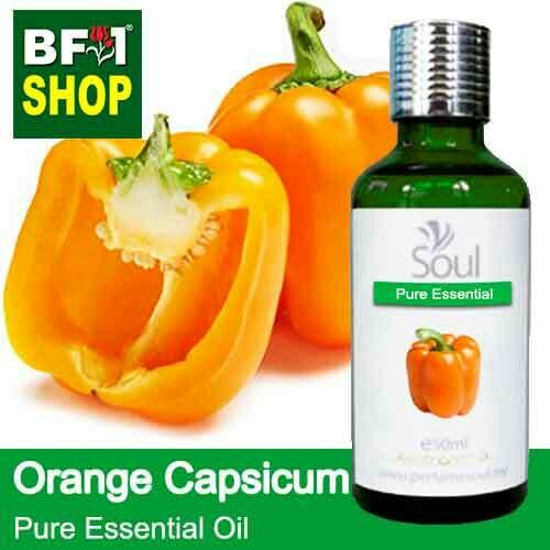 Pure Essential Oil (EO) - Capsicum Orange Essential Oil - 50ml