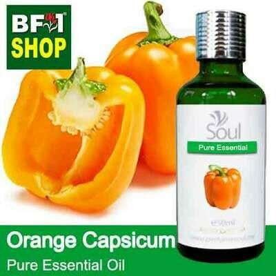 Pure Essential Oil (EO) - Capsicum Orange Essential Oil - 50ml