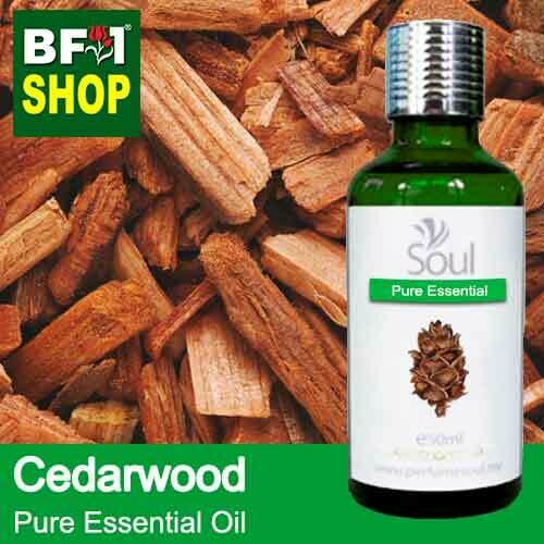 Pure Essential Oil (EO) - Cedar Wood Essential Oil - 50ml
