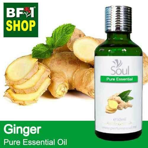 Pure Essential Oil (EO) - Ginger Essential Oil - 50ml