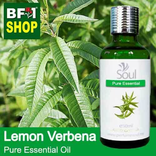 Pure Essential Oil (EO) - Lemon Verbena Essential Oil - 50ml