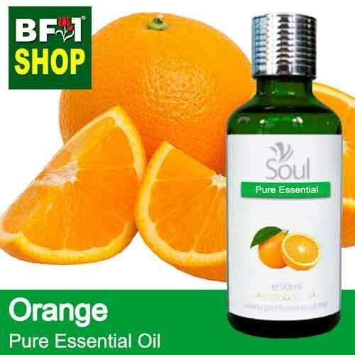 Pure Essential Oil (EO) - Orange  Essential Oil - 50ml
