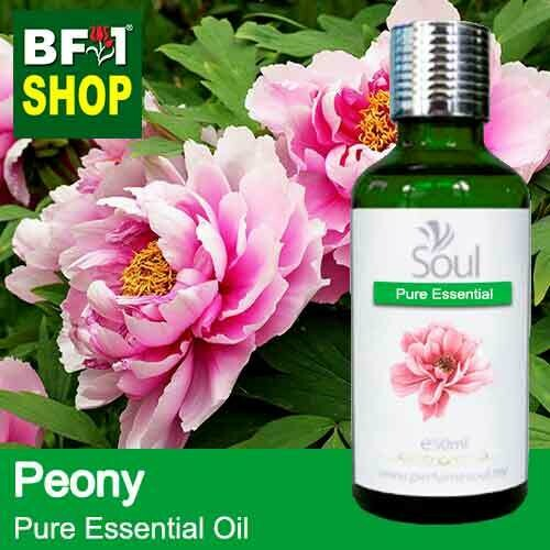Pure Essential Oil (EO) - Peony Flower Essential Oil - 50ml