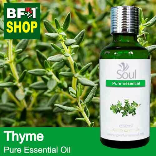 Pure Essential Oil (EO) - Thyme ( Common Thyme ) Essential Oil - 50ml