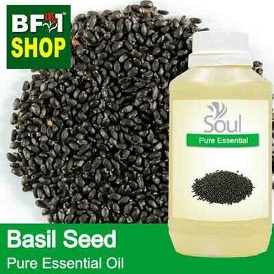 Pure Essential Oil (EO) - Basil Seed ( Ocimum Basilcum ) Essential Oil - 500ml