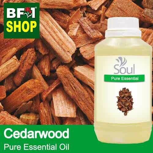 Pure Essential Oil (EO) - Cedar Wood Essential Oil - 500ml