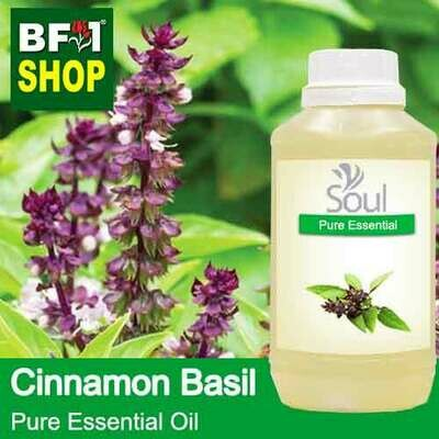Pure Essential Oil (EO) - Basil - Cinnamon Basil ( Thai Basil ) Essential Oil - 500ml