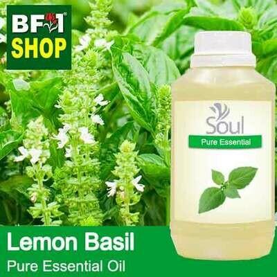 Pure Essential Oil (EO) - Basil - Lemon Basil ( Citriodorum Basil ) Essential Oil - 500ml