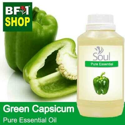 Pure Essential Oil (EO) - Capsicum Green Essential Oil - 500ml